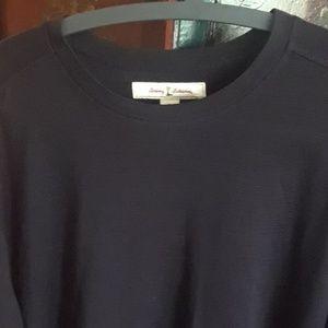 Tommy Bahama Shirts - Tommy bahama black crewneck XL